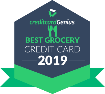 Best Grocery Credit Card award seal