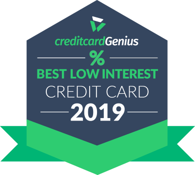 Best low APR credit cards for 2019 award seal